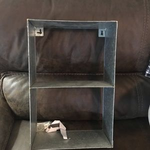 🖤New Galvanized Farmhouse Storage Shelf